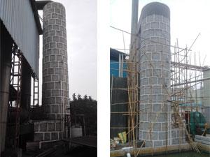广西贺州客户锅炉烟气脱硫,除尘