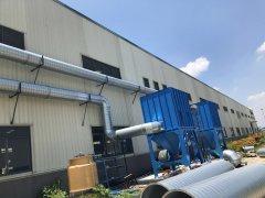 工厂废气处理天泽员工施工现场