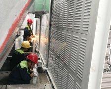 东莞华科电子有限公司楼顶噪声改善工程