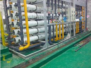 四川60 m3/h纯水制备工程