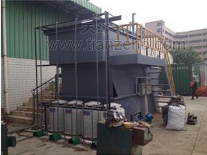 东莞大岭山5m3/h含油废水气浮处理工程