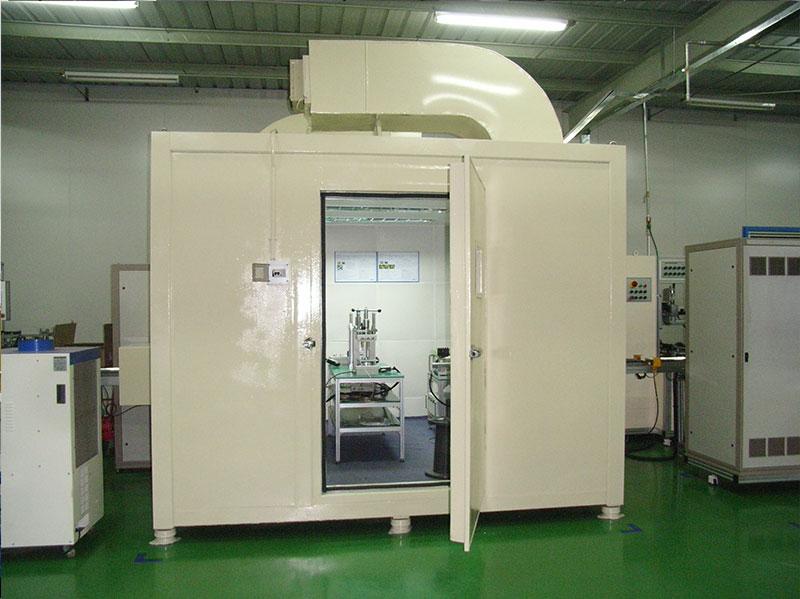 自动生产线产品质检室 室外噪声≥75dB(A),室内≤35dB(A)