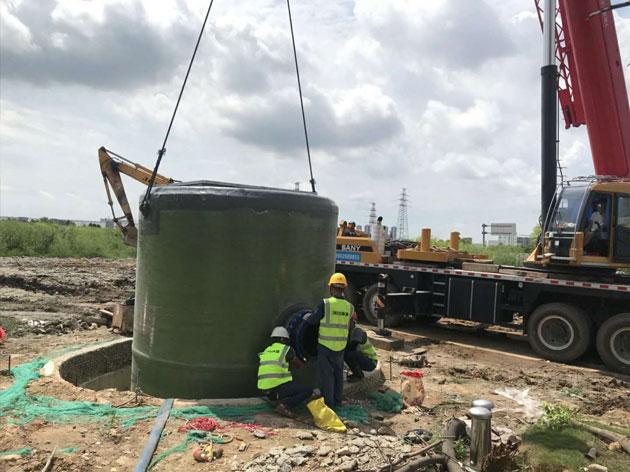 天泽环保施工队安装污水处理设备