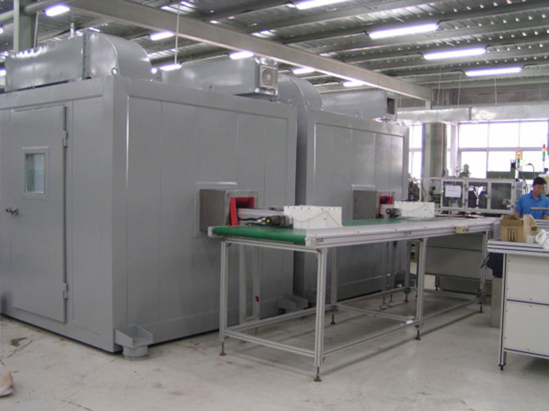 自动生产线产品质检室 室外噪声≥80dB(A),室内≤40dB(A)